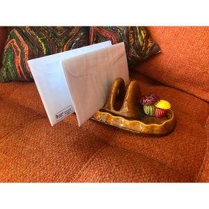 Toast/Stationary/envelope/bills holder